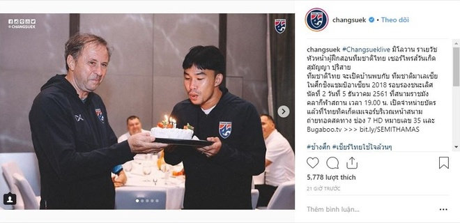 Tuyen thu Thai Lan om me bat khoc sau khi bi loai khoi AFF Cup hinh anh 1