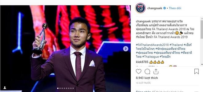 Tien ve Chanathip gianh Qua bong vang Thai Lan 2018 hinh anh 1