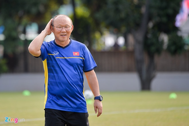 HLV Park gap rut trieu tap Ho Tan Tai len tuyen Viet Nam hinh anh 2