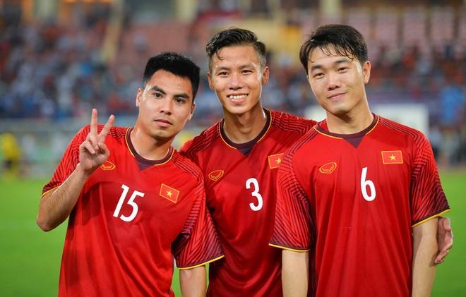 Tuyen Viet Nam co do tuoi trung binh tre nhat tai Asian Cup 2019 hinh anh
