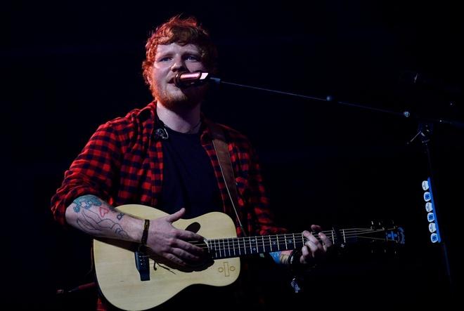 Ed Sheeran chua the cham dut vu lum xum dao nhac tu tien boi hinh anh 1