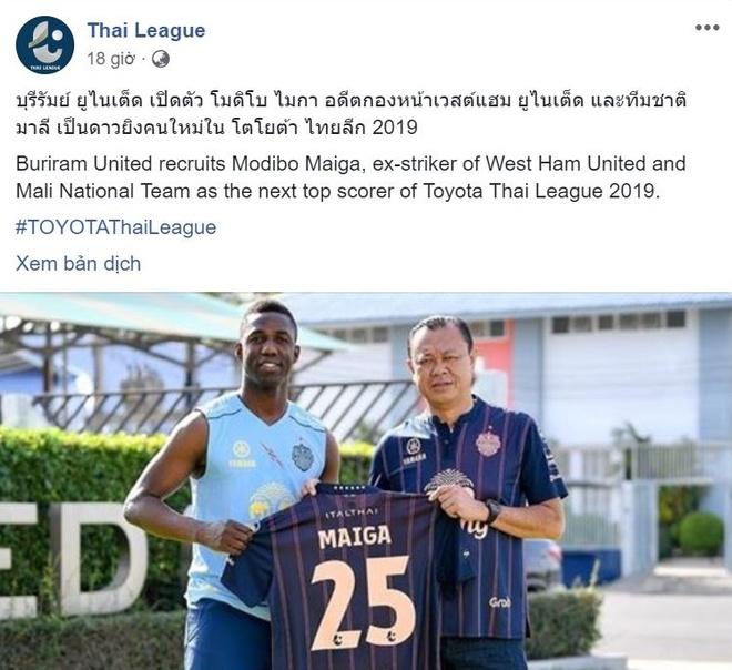 Giai Thai League don cuu cau thu cua Ngoai hang Anh hinh anh 1
