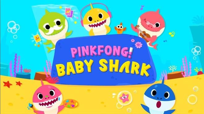 Bai hat thieu nhi 'Baby Shark' bat ngo gay bao trong tuan qua hinh anh
