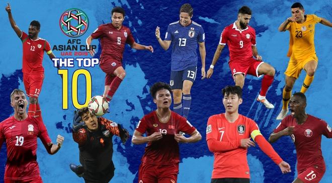 Quang Hai lot top 10 cau thu xuat sac o luot tran thu 3 Asian Cup hinh anh