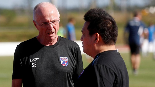 HLV Eriksson chia tay Philippines sau Asian Cup hinh anh 1