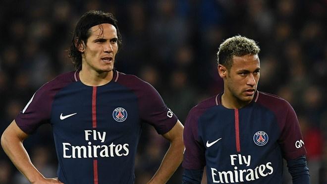 Neymar vang mat, Cavani se ra san o tran gap MU tai Champions League hinh anh 1