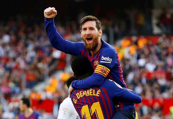 Messi lap ky luc sau tran thang Real Madrid tai El Clasico hinh anh 2