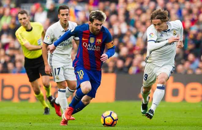 Messi lap ky luc sau tran thang Real Madrid tai El Clasico hinh anh 1
