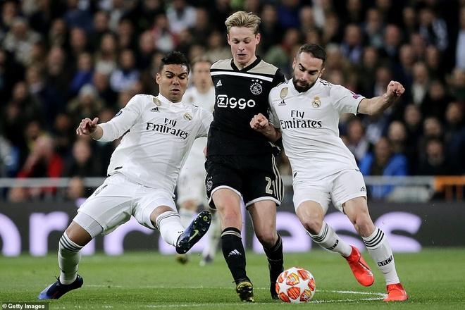 Cham diem Real Madrid 1-4 Ajax: That vong trai deu cac tuyen Real hinh anh 6
