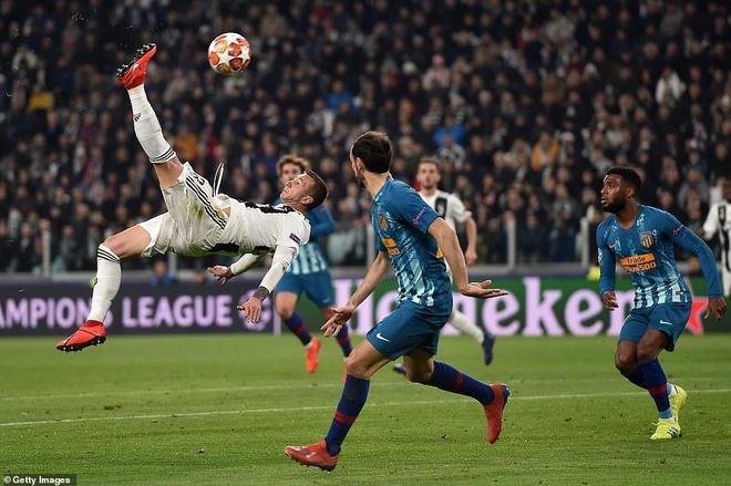 Ronaldo va Messi ruc sang o doi hinh tieu bieu tu ket Champions League hinh anh 8