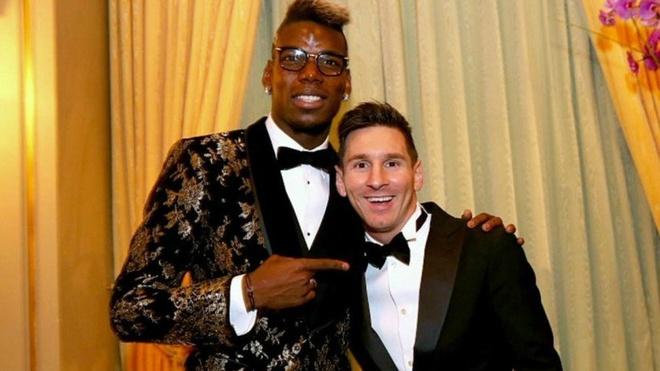 Paul Pogba: 'Messi vuot xa phan con lai' hinh anh 1