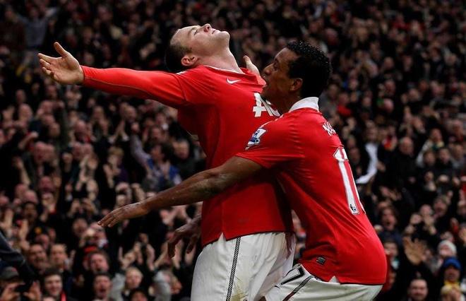 Rooney ghi sieu pham trong ngay gap lai Luis Nani anh 1