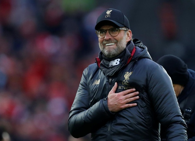 Juergen Klopp chap nhan thang may de vo dich cung Liverpool anh 1