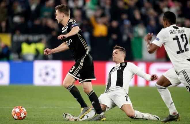 Ronaldo chia tay Champions League bang pha pham loi tho bao hinh anh 1
