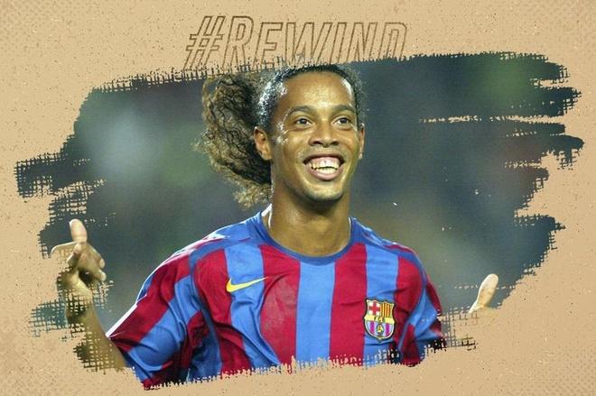Sieu pham dang nho nhat cua Ronaldinho cho Barcelona hinh anh
