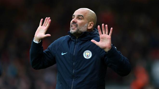 HLV Guardiola: 'Man City khong con so Old Trafford' hinh anh 1