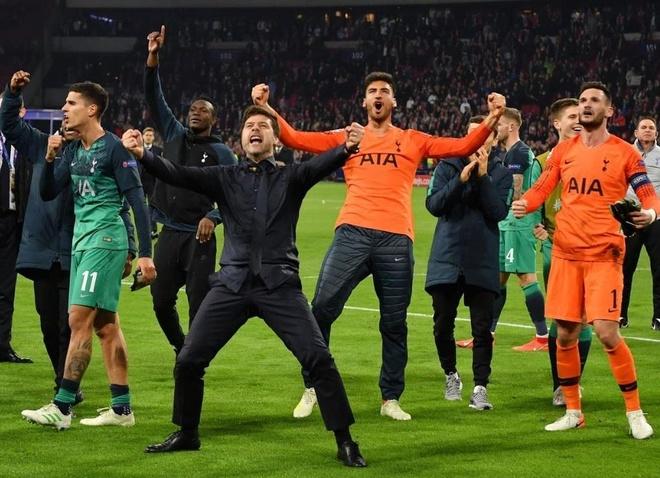 Tottenham vao chung ket Champions League anh 1