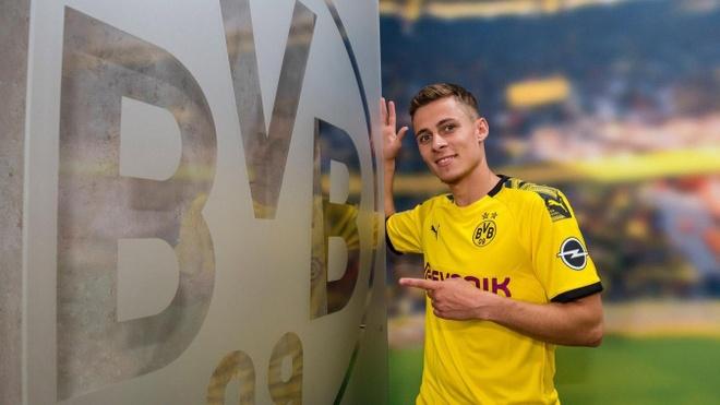 Em trai cua Eden Hazard va Brandt cung gia nhap Dortmund anh 1