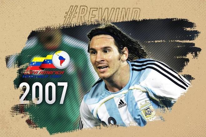 Messi pho dien dang cap o lan dau thi dau tai Copa America hinh anh