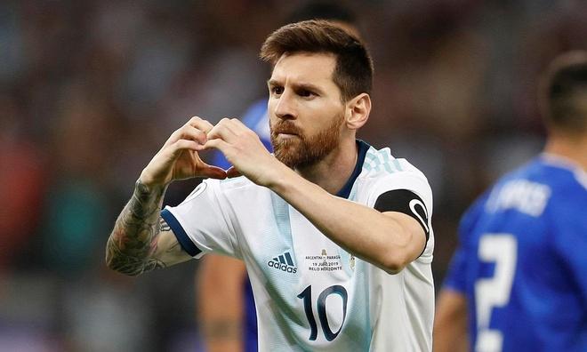 Aguero ghi ban dua Argentina vao tu ket Copa America 2019 hinh anh 2