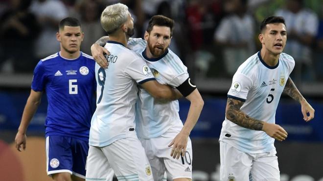 Aguero ghi ban dua Argentina vao tu ket Copa America 2019 hinh anh 3