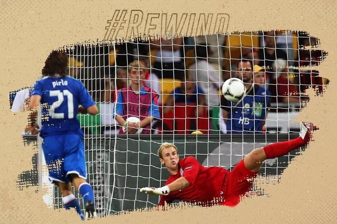 Andrea Pirlo sut panenka, bien Joe Hart thanh ga he o Euro 2012 hinh anh