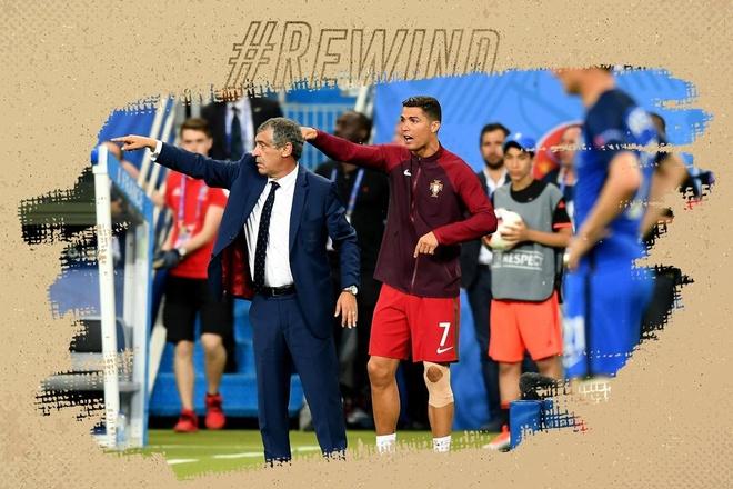 Khoanh khac Ronaldo bat khoc, chi dao dong doi tai Euro 2016 hinh anh