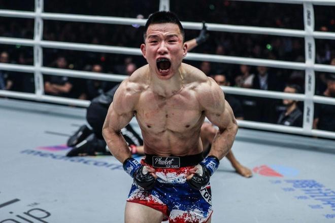 Vo si tan thu Trung Quoc ha do van nha vo dich Muay Thai hinh anh