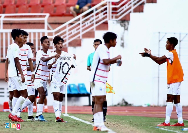 U18 Campuchia được thưởng lớn sau kỳ tích chưa từng có trước Việt Nam