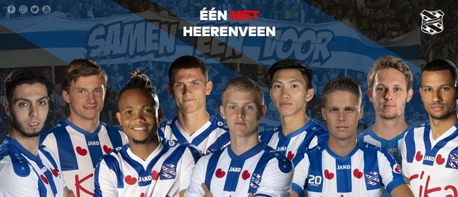 Van Hau co vi tri dep trong anh gioi thieu SC Heerenveen hinh anh 1