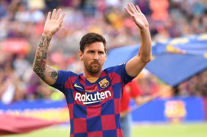 Beckham len ke hoach dua Messi roi Barcelona hinh anh 1