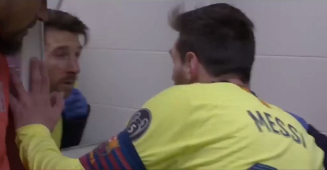Hinh anh chua tung thay cua Barca sau tran thua Liverpool hinh anh 2