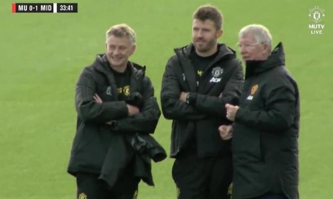 Sir Alex den san tap MU truoc tran dai chien Liverpool hinh anh 1