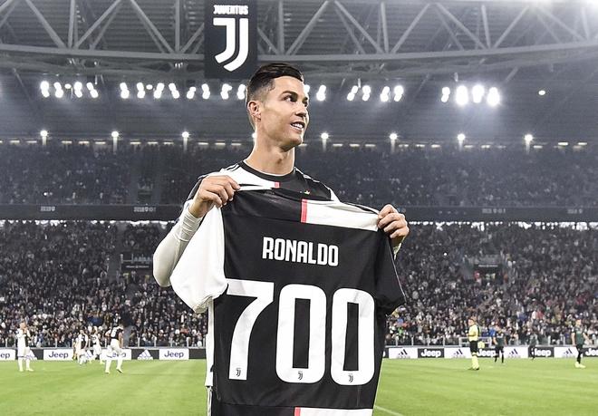 Bảng xếp hạng quan hệ lâu ra Ronaldo đứng số 2
