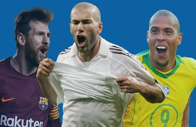 Zidane, Messi va nhung cau thu re bong dinh cao hinh anh