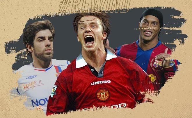 Beckham co ten, Ronaldo vang mat o top chan sut phat hay nhat hinh anh