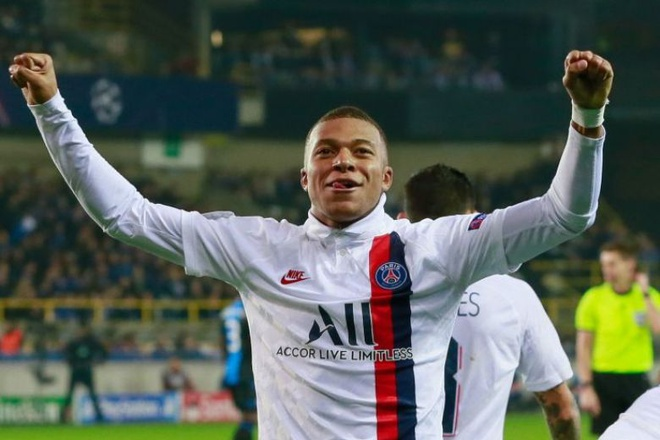 Mbappe xo do ky luc cua Messi o Champions League hinh anh 1