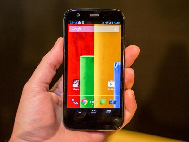 Google se dua Motorola ve thoi hoang kim voi Moto G? hinh anh 1