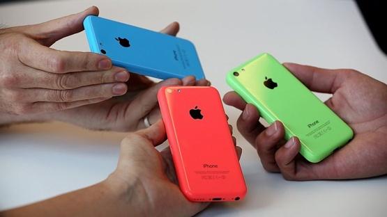 iPhone 5C e am, nha may ngung san xuat? hinh anh