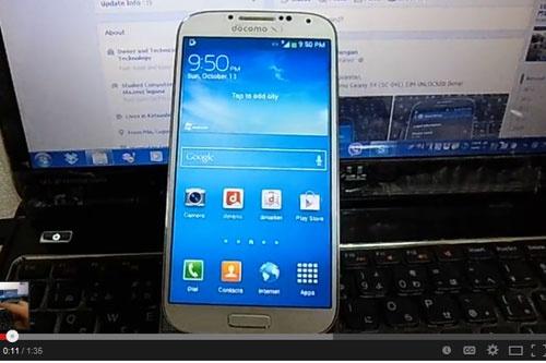 Gap 'qua dang' khi mua Samsung Galaxy S4 'xach tay' hinh anh 1