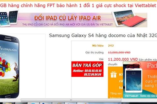 Gap 'qua dang' khi mua Samsung Galaxy S4 'xach tay' hinh anh 3