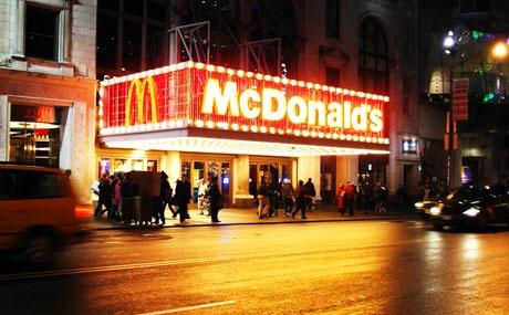 McDonald's that the ngay tai que nha hinh anh
