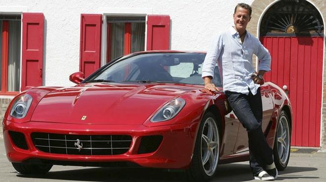 Ferrari chuan bi sinh nhat dac biet cho Michael Schumacher hinh anh
