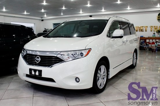 Chi tiet chiec minivan ca tinh Nissan Quest 2014 gia 2,8 ty hinh anh