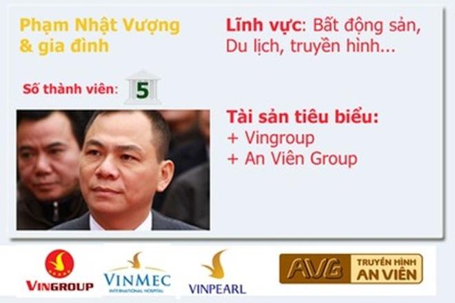 20 gia dinh kinh doanh hang dau Viet Nam so huu nhung gi? hinh anh 9