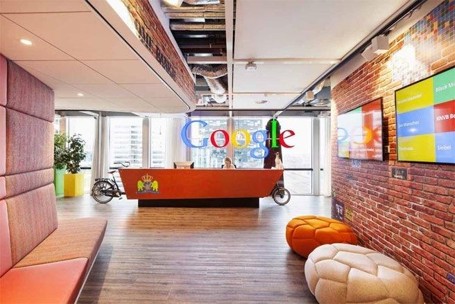 Van phong doc dao cua Google o Amsterdam hinh anh