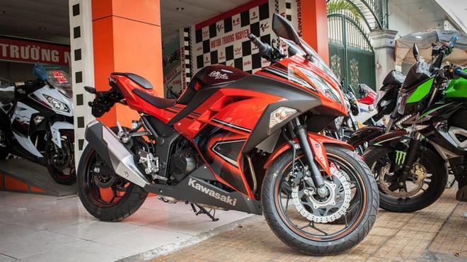 Kawasaki Ninja 300 ABS ve Viet Nam voi gia 300 trieu dong hinh anh 1 Kawasaki Ninja 300 ABS 2014.
