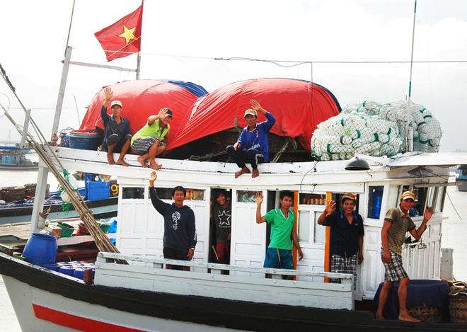 Nhung con ca ngu dai duong nua ta tren bien Phu Yen hinh anh 2 Tạm biệt đất liền.