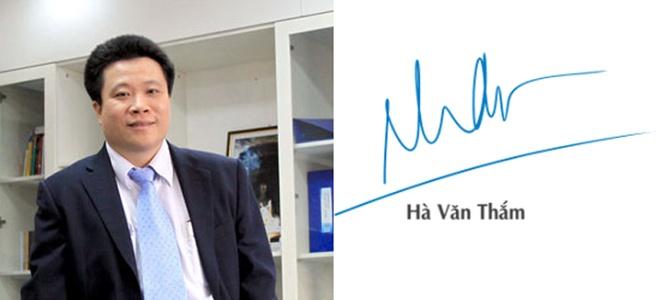 Nhung nguoi giau nhat Viet Nam ky ten nhu the nao? hinh anh 4 Ông Hà Văn Thắm - Chủ tịch Ocean Group, Ocean Bank.