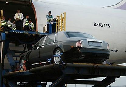 Vi sao Rolls-Royce cua ba Bach Diep la doc nhat vo nhi? hinh anh 3 Chiếc Rolls Royce Phantom của bà Diệp được chở về Việt Nam bằng máy bay với cước phí <abbr class=